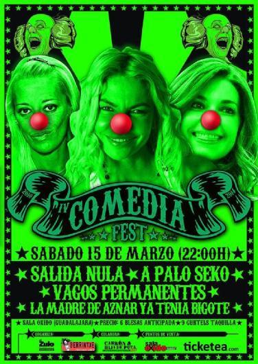 14.03.15 - IV Comedia Fest - Sala Oxido - Guadalajara